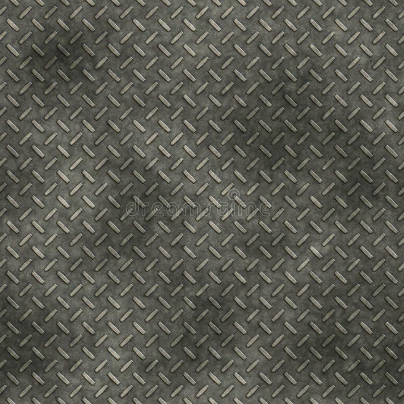 Placa del diamante sucia stock de ilustración