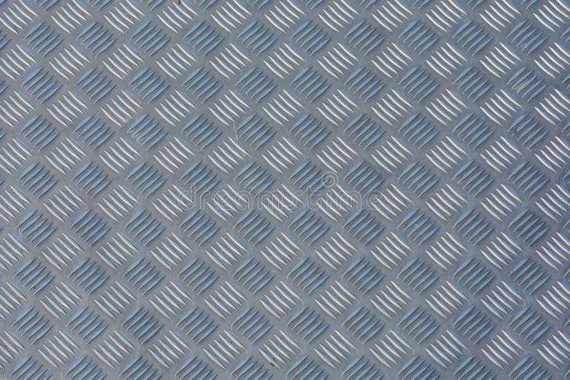 Placa del inspector como textura del metal foto de archivo