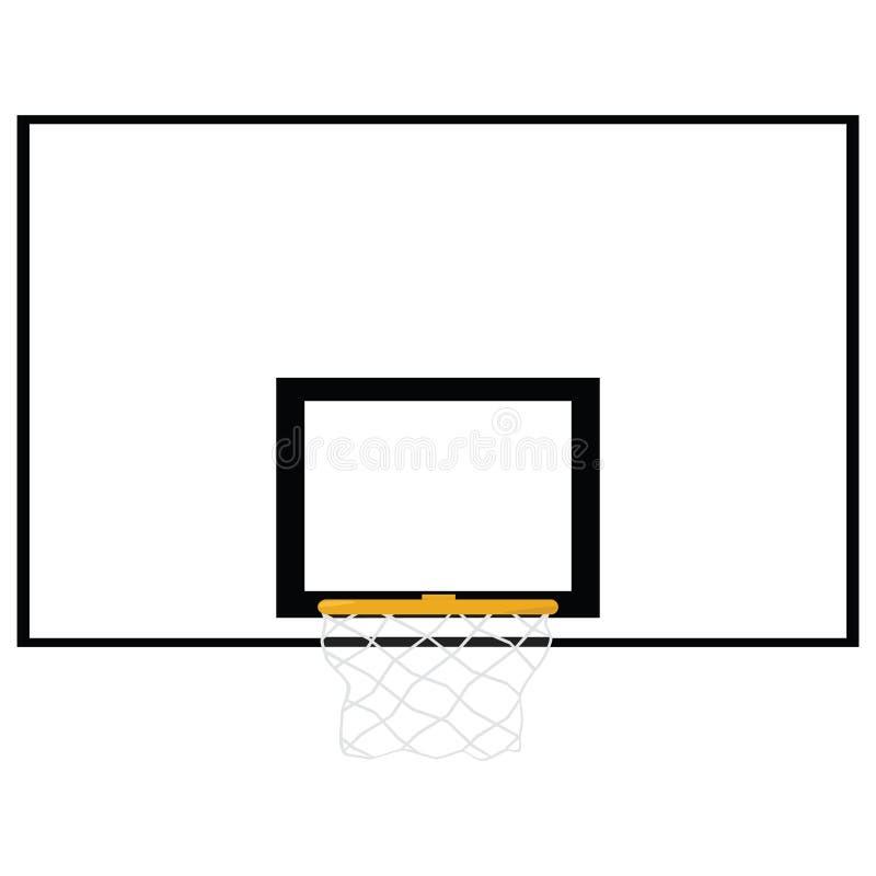 Placa do basquetebol ilustração do vetor