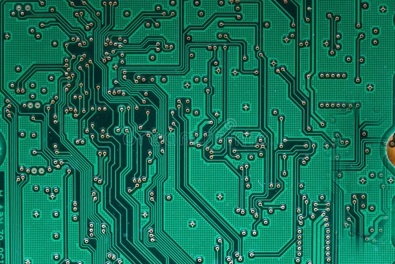 Placa do computador Tecnologia eletrônica imagem de stock royalty free