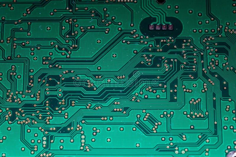 Placa do computador Tecnologia eletrônica imagens de stock