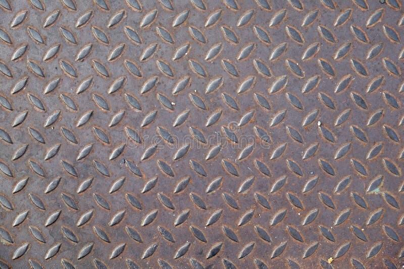 Placa do ferro do metal imagem de stock royalty free