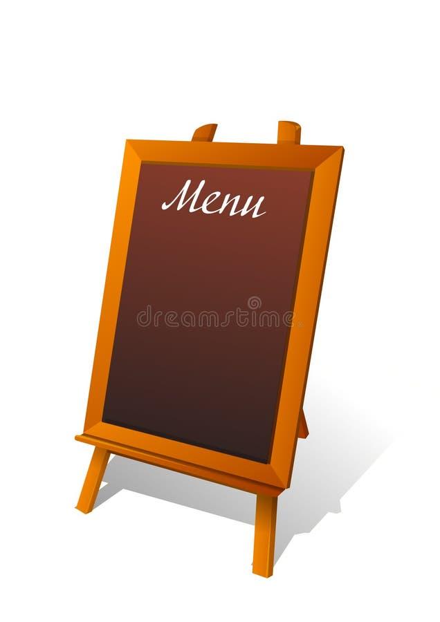 Placa do menu do vetor fotos de stock