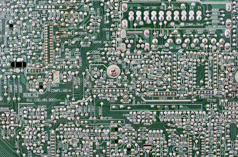 Placa do microcircuito. foto de stock royalty free