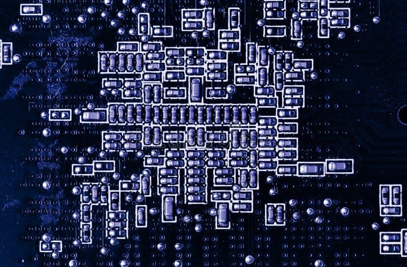 Placa do microcircuito. fotografia de stock royalty free