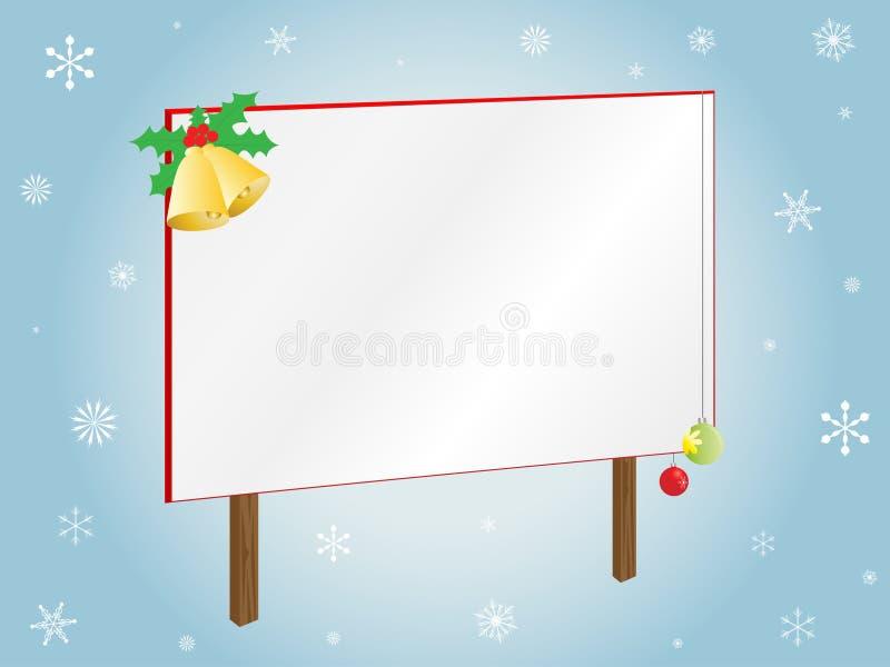 Download Placa do Natal ilustração do vetor. Ilustração de objeto - 16855437