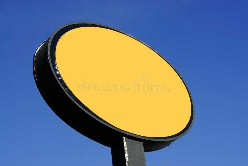 Placa do sinal foto de stock royalty free