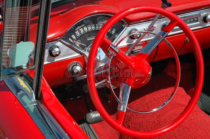 Placa e roda do traço do carro do vintage fotografia de stock royalty free
