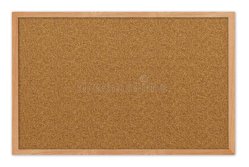 Placa em branco da cortiça imagem de stock royalty free