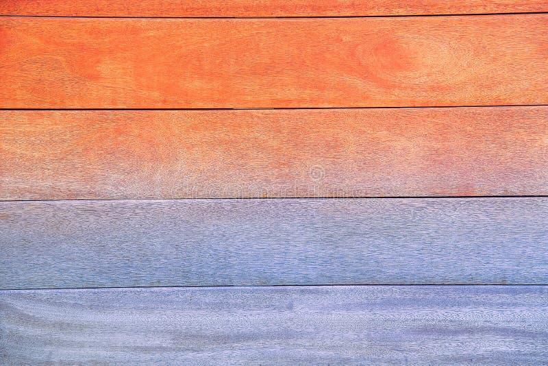 Placa natural de madeira para cobrir a superfície da casa na cor multi-colorida fotografia de stock royalty free
