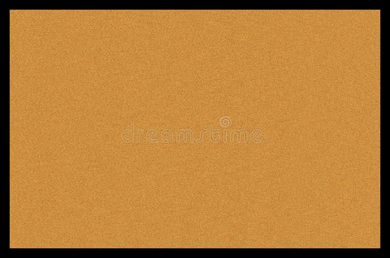 Placa ou fundo vazio em branco de boletim da cortiça ilustração royalty free