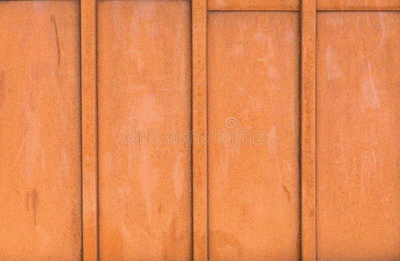 Placa oxidada del hierro fotos de archivo libres de regalías