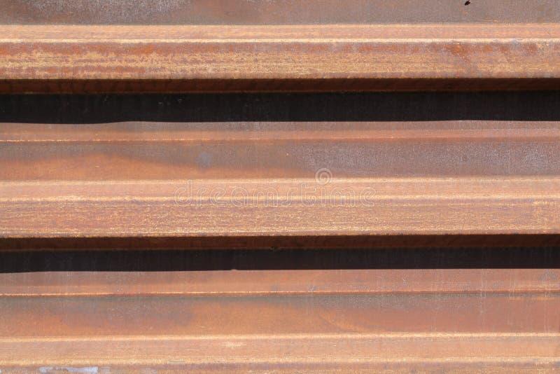 Placa oxidada do ferro imagens de stock