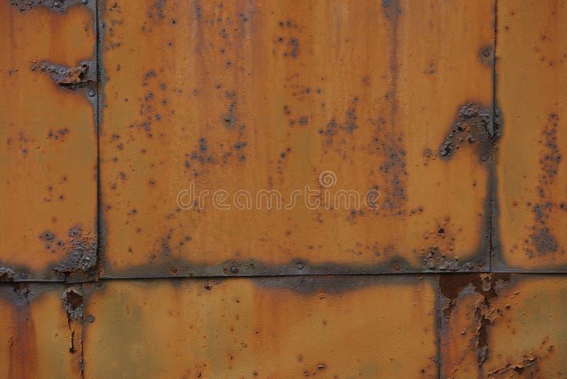 Placa oxidada do ferro imagens de stock royalty free