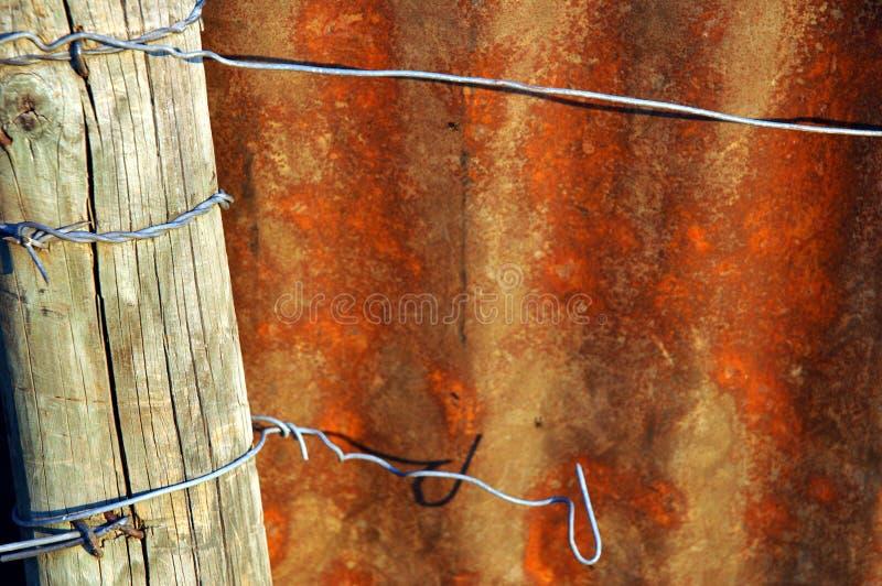 Download Placa oxidada do metal imagem de stock. Imagem de industrial - 125585