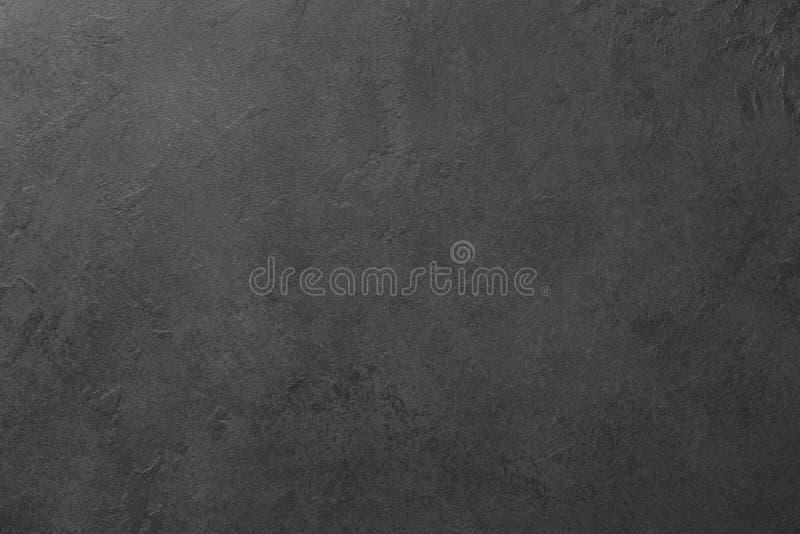 Placa preta ou textura de pedra preta do fundo imagem de stock royalty free