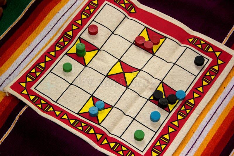 Placa tecida do jogo de pano imagens de stock
