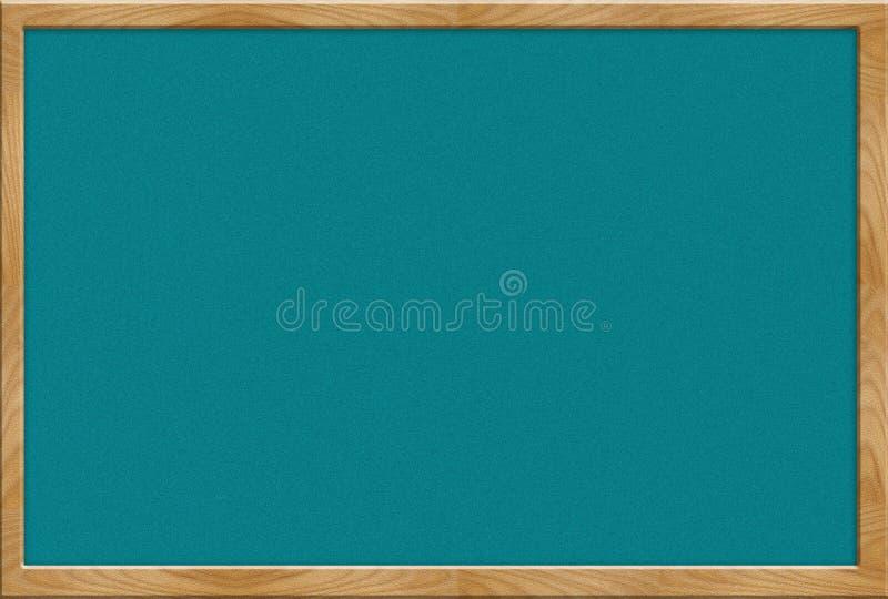 Placa vazia ilustração stock