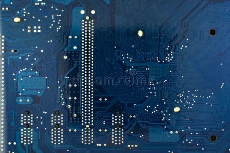 Placa velha do cartão-matriz imagem de stock