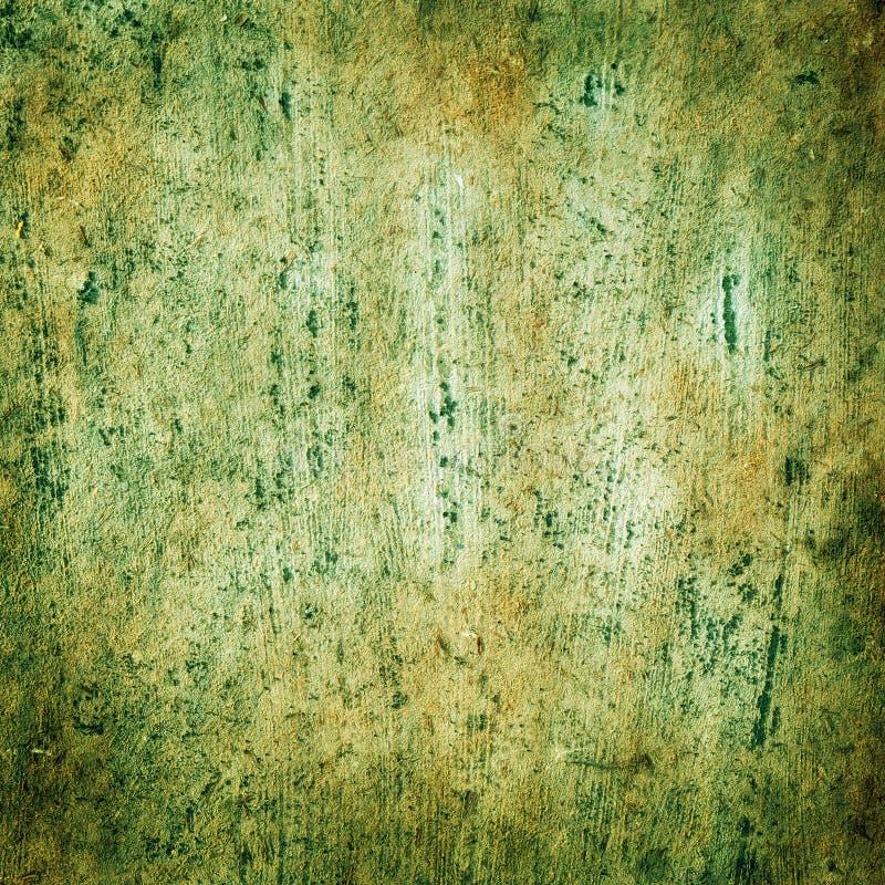 Placa vieja con verde del fondo de los cepillos de las texturas fotografía de archivo libre de regalías