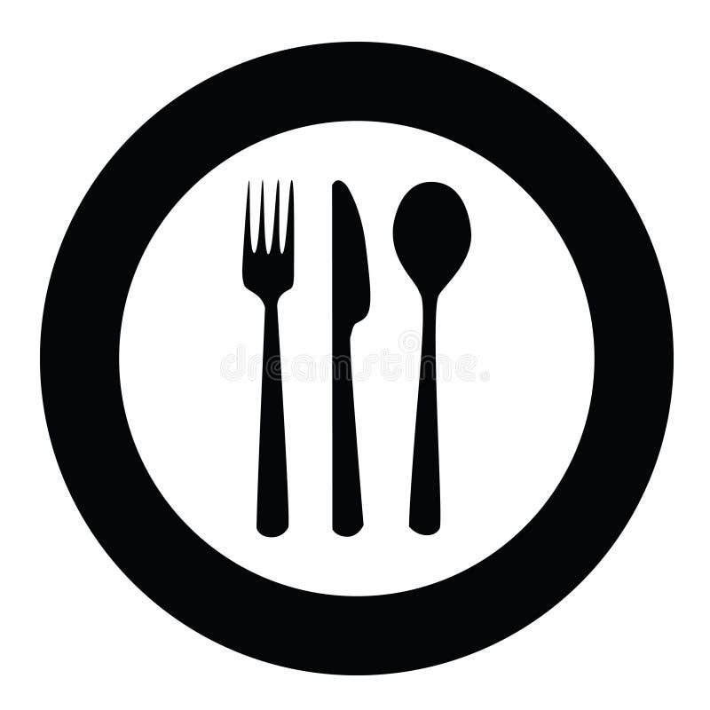 Placa y cuchillería libre illustration