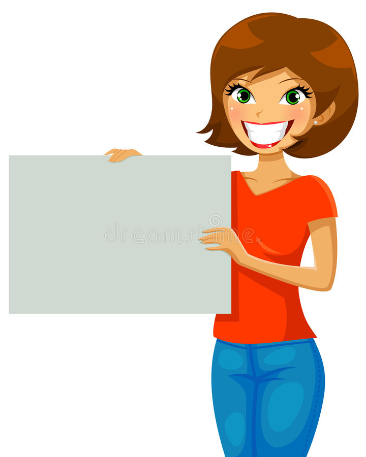 Download Placard stock vector. Illustration of marketing, placard - 30371913