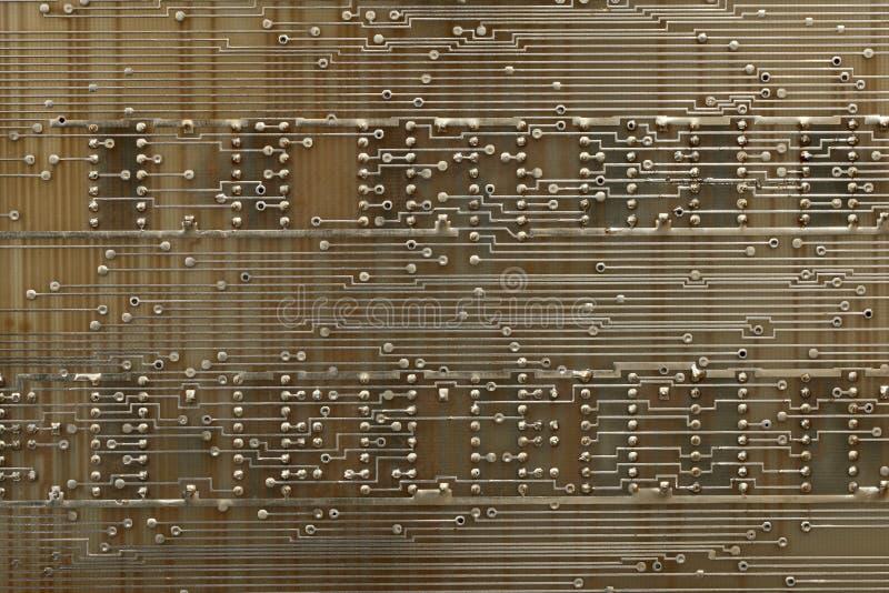 Placas de circuito eletrônico. fotografia de stock
