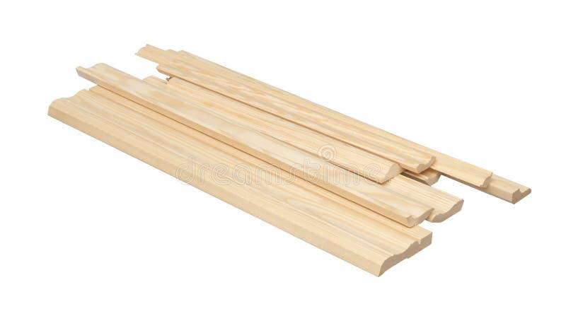 Placas de contorno de madeira fotografia de stock