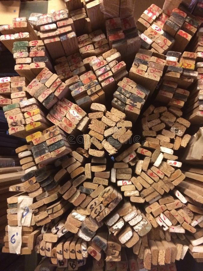 Placas de madeira imagens de stock royalty free