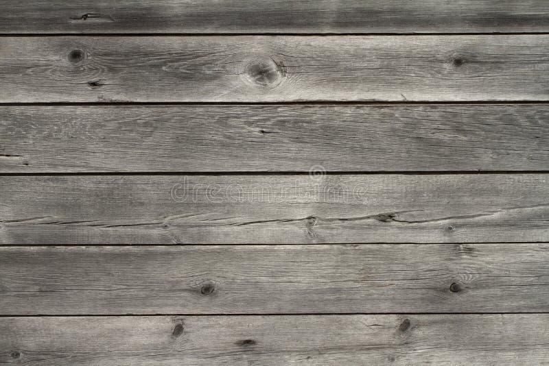 Placas de madeira desvanecidas da idade imagem de stock royalty free