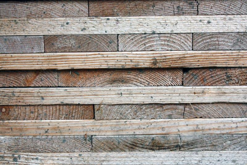 Placas de madeira escuras, pranchas Madeira envelhecida natural, um processo natural Close-up Fotos conservadas em estoque fotografia de stock royalty free