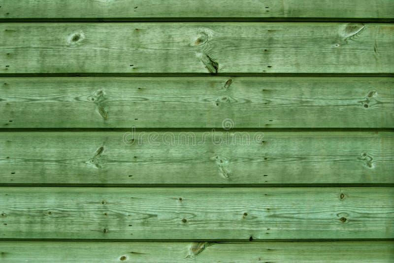 Placas de madeira verdes foto de stock