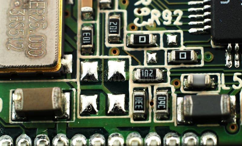 Placas eletrônicas imagem de stock
