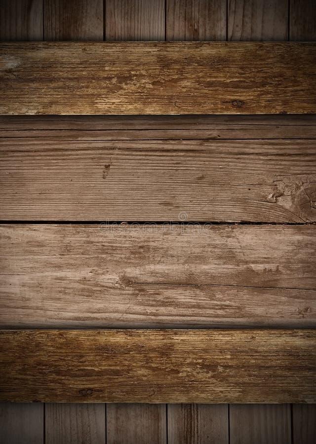Placas idosas de madeira imagem de stock