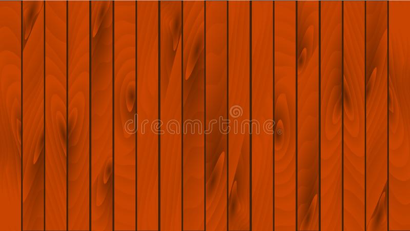 Placas marrons de madeira bonitas connosco, emendas e textura de madeira A textura da tábua corrida de madeira, parquet O fundo ilustração royalty free