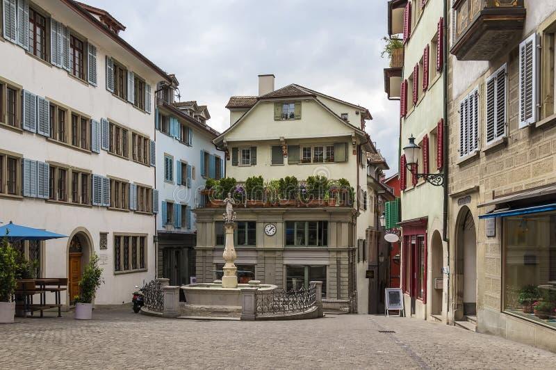 Place à Zurich photo libre de droits