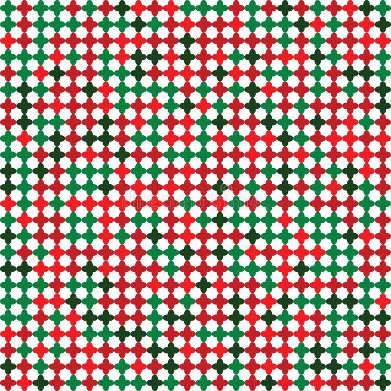 Place abstraite de fleur de fond de Noël illustration stock