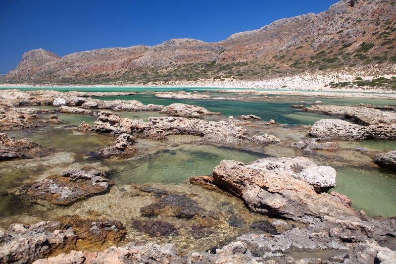 Download Balos Lagoon Of Crete, Greece Stock Image - Image: 30235957