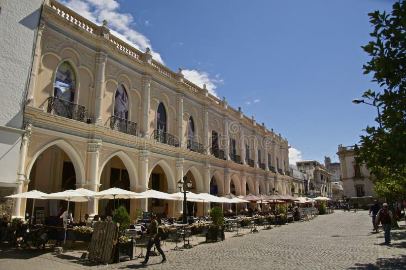 Place centrale de Salta photographie stock