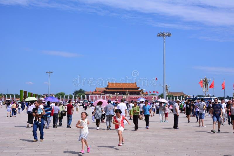 Place d'anmen de ` de Tian photographie stock