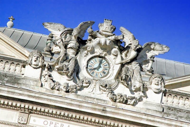 Place de Λα Comédie - τετράγωνο θεάτρων του Μονπελιέ στοκ φωτογραφίες με δικαίωμα ελεύθερης χρήσης