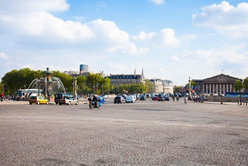 Place de Λα Concorde στο Παρίσι, Γαλλία, μπορεί το 2013 στοκ εικόνες