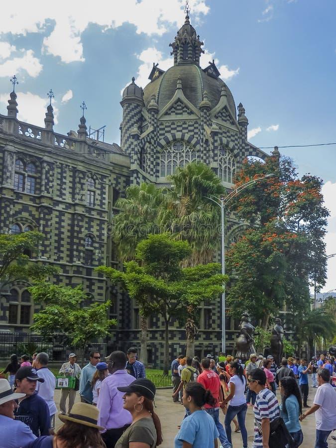 Place de Botero à Medellin Colombie photos libres de droits