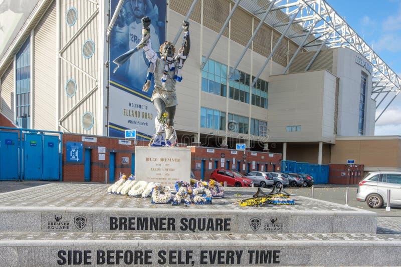 Place de Bremner à la route d'Elland, Leeds photo libre de droits