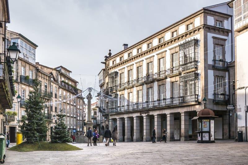 Place de Cervantes photos stock