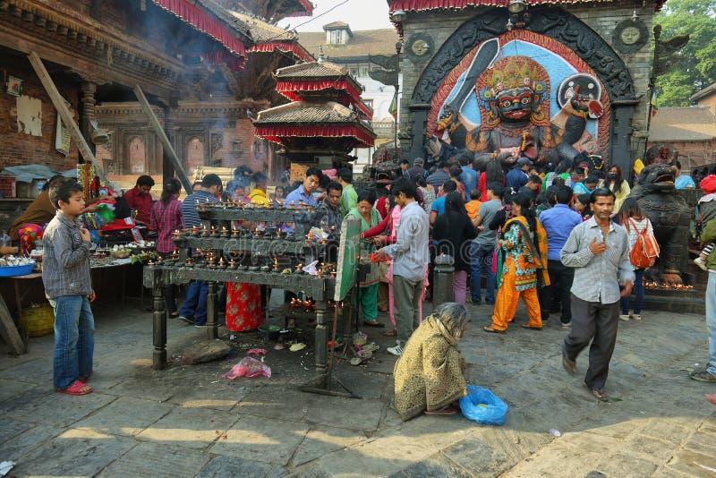Place de Durbar de Katmandou photos libres de droits