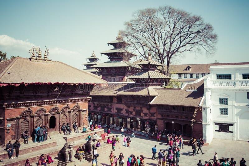 Place de Durbar de Katmandou, Népal photographie stock
