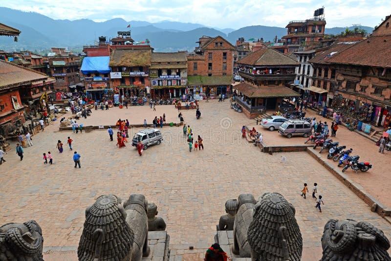 Place de Durbar, Katmandou, Népal photos libres de droits