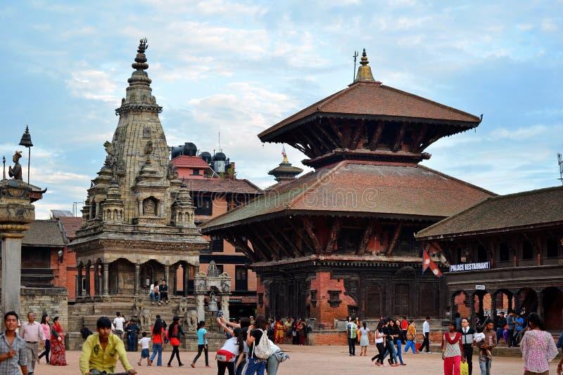Place de Durbar, Katmandou, Népal photographie stock