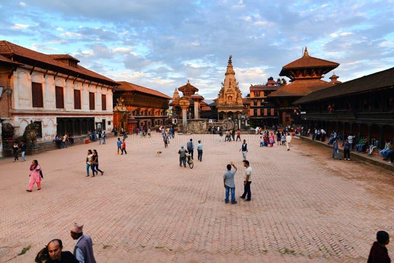 Place de Durbar, Katmandou, Népal photo stock
